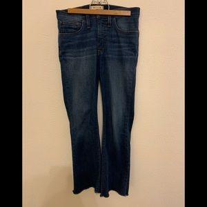 Madewell Cali-Demi boot Jean